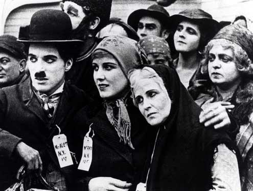 L'émigrant, film de Charlie Chaplin