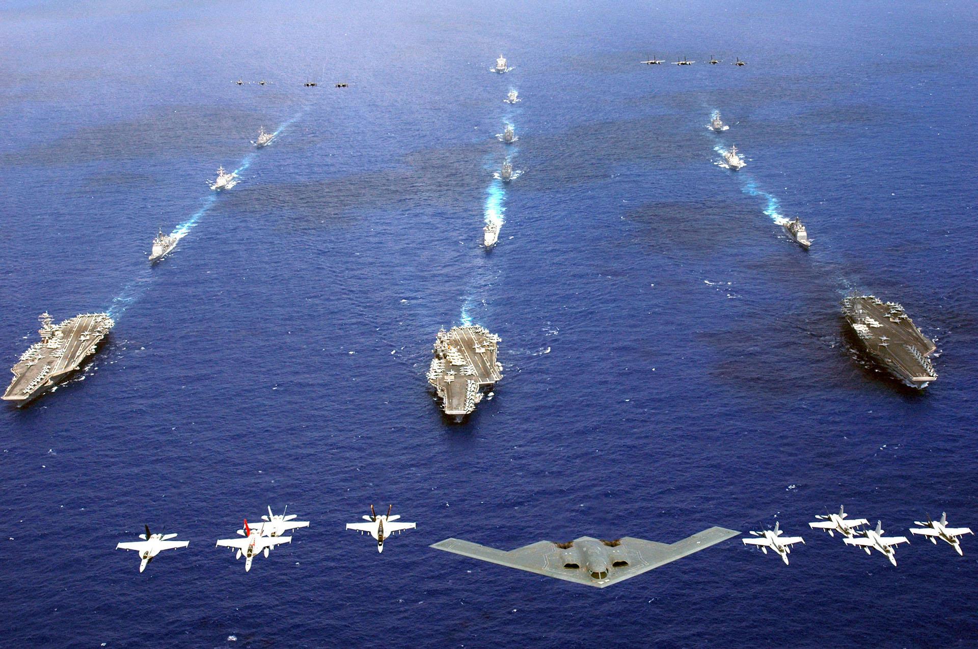 Flotte de guerre américaine