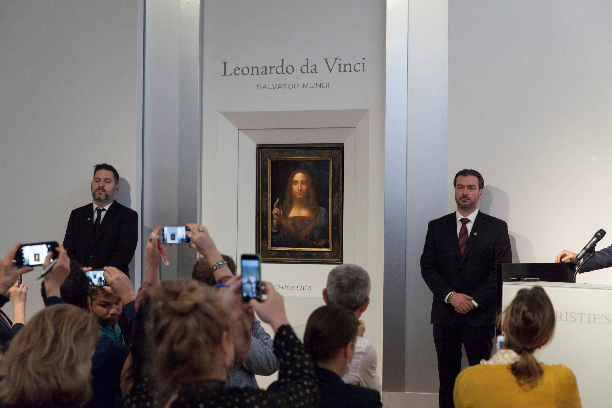 Christies, Salvator Mundi