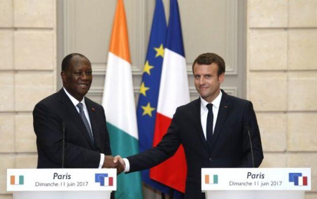Développement Afrique Macron et Ouattara
