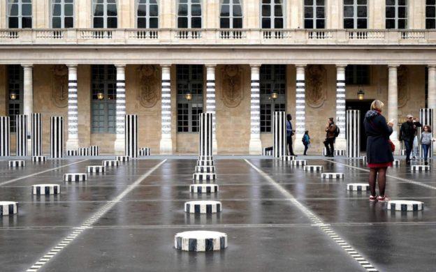 Art contemporain au Palais-Royal