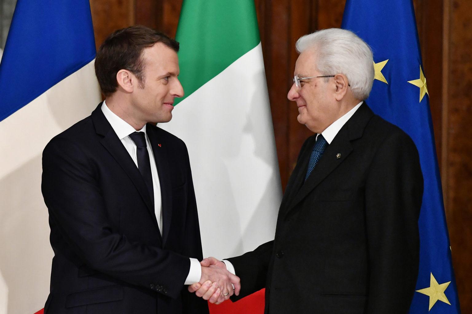 Rencontre des dirigeants français et italien