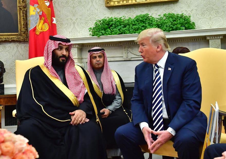 Arabie saoudite : Trump et MBS
