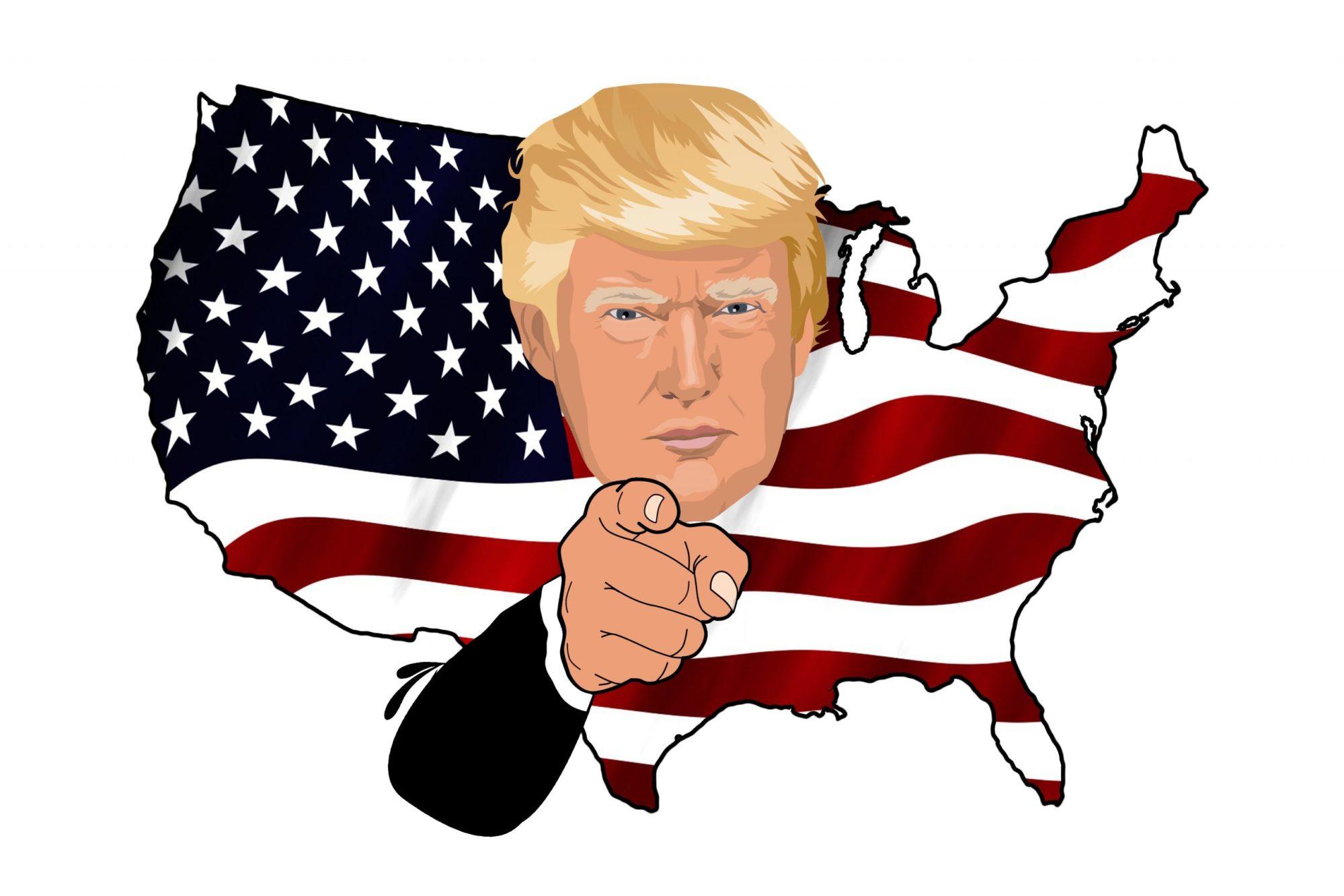 Trump en Oncle Sam