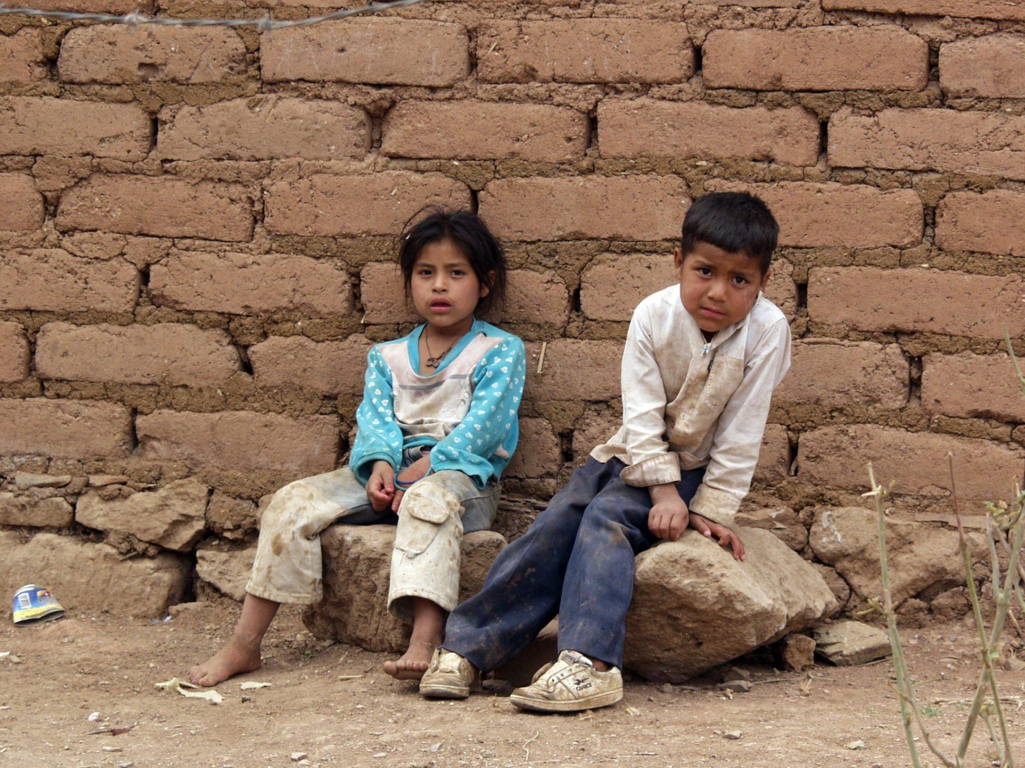 Enfants défavorisés au Guatemala