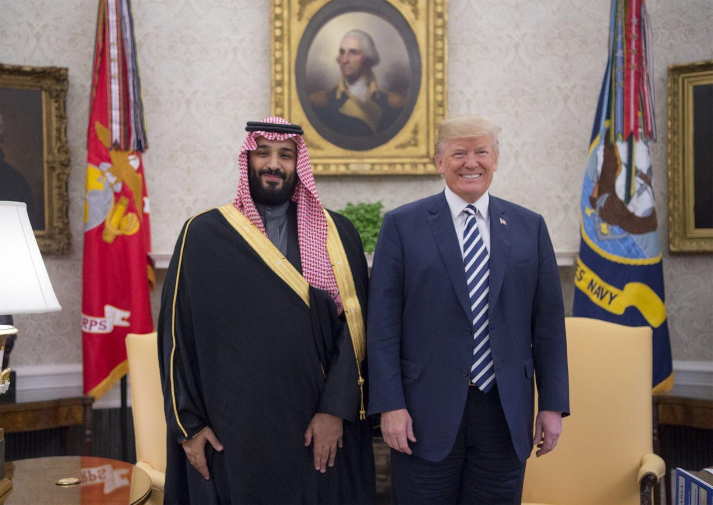 Rencontre entre Trump et le prince d'Arabie Saoudite