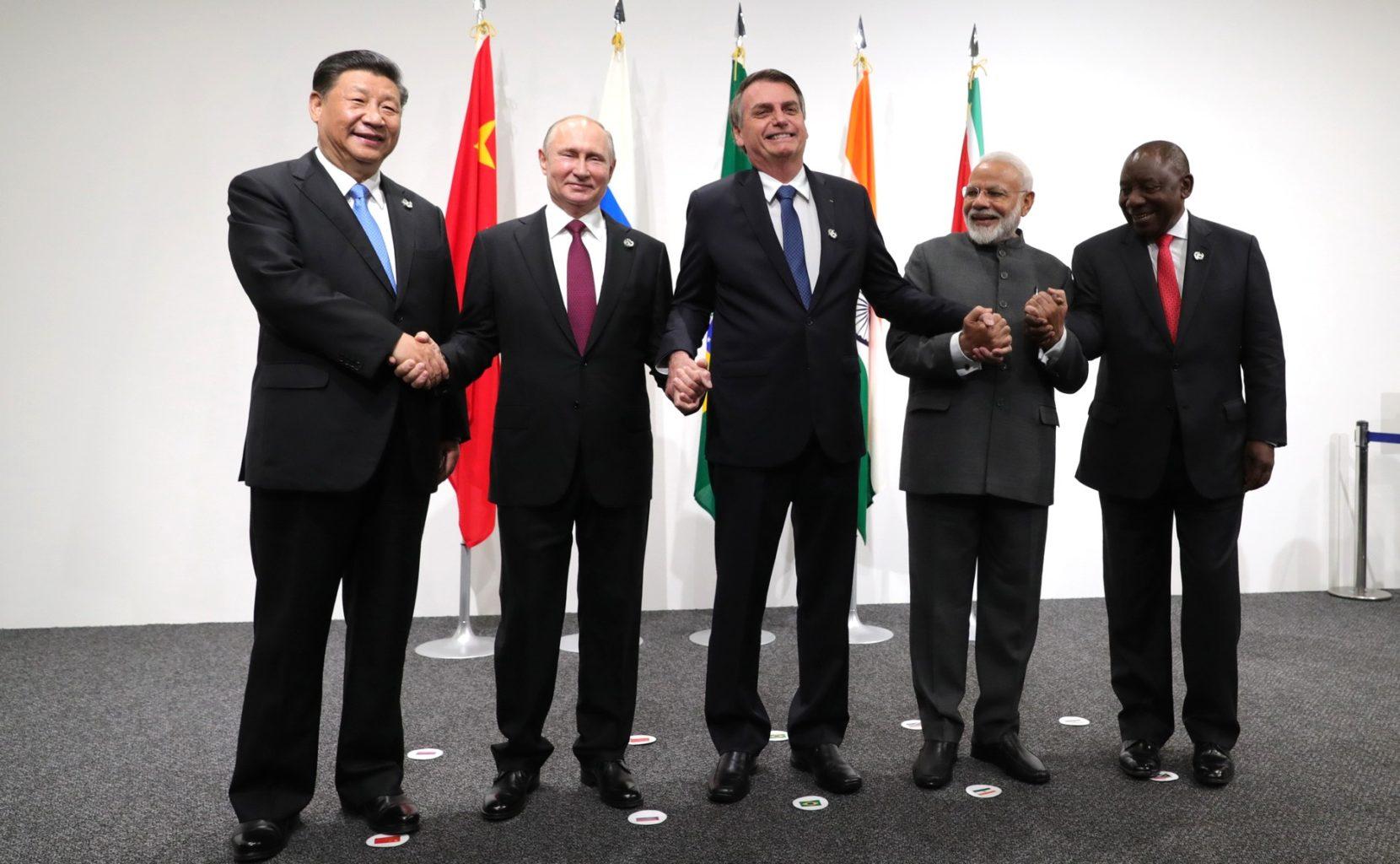 Les dirigeants des BRICS en 2019