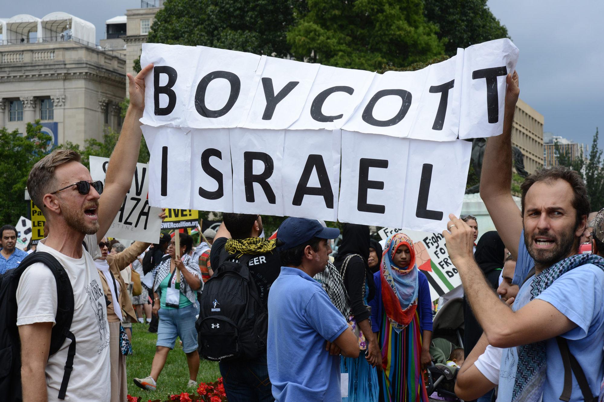 Manifestation anti-Israël