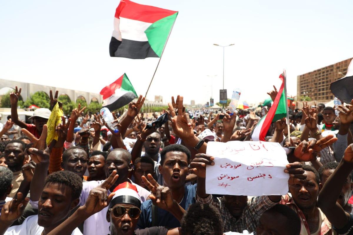 Manifestations contre le gouvernement au Soudan