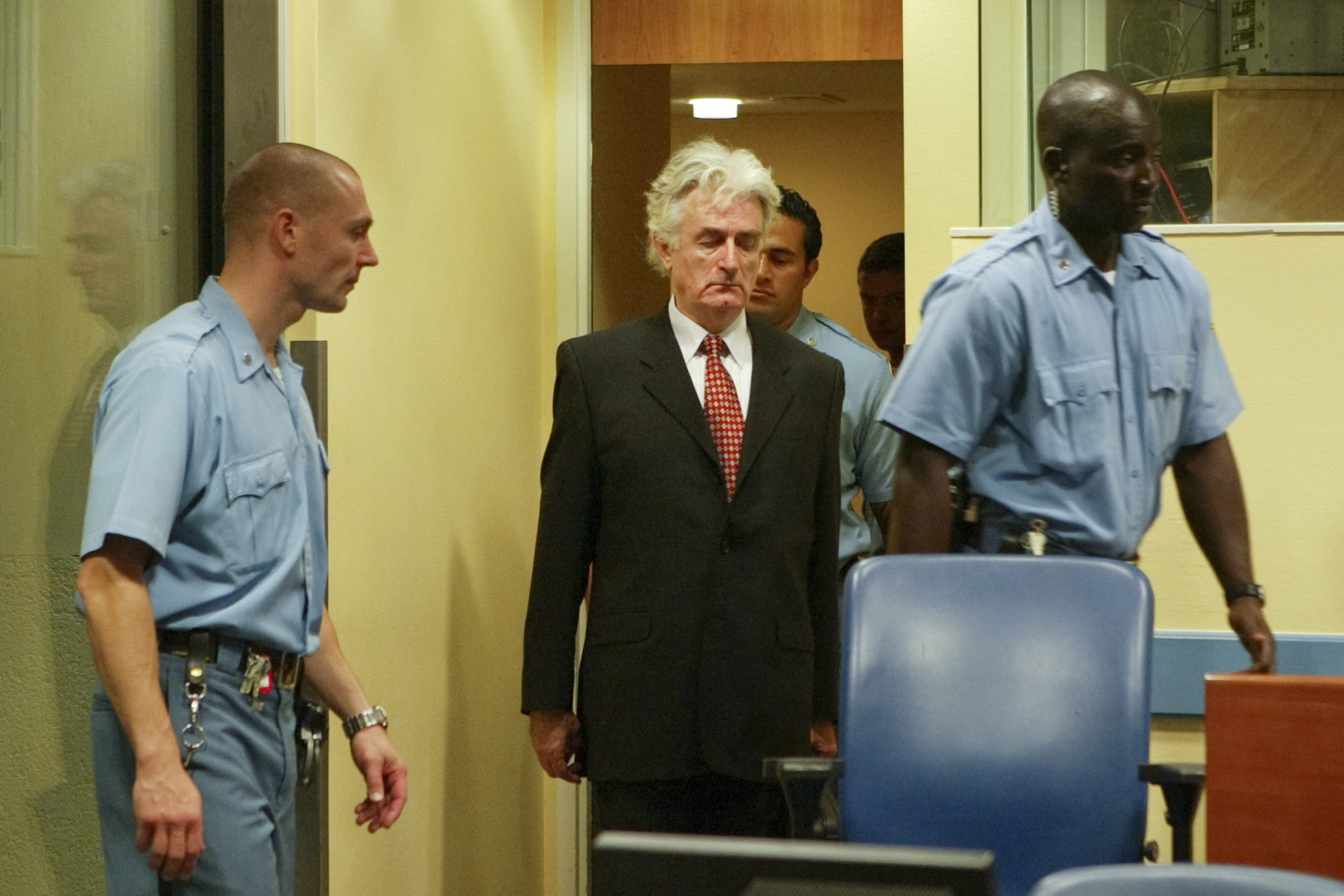 Procès de Radovan Karadzic en Ex-Yougoslavie