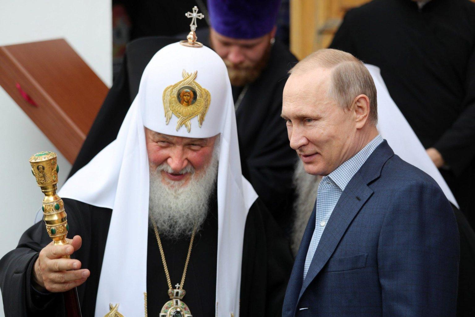 Vladimir Poutine et l'Église orthodoxe en Russie