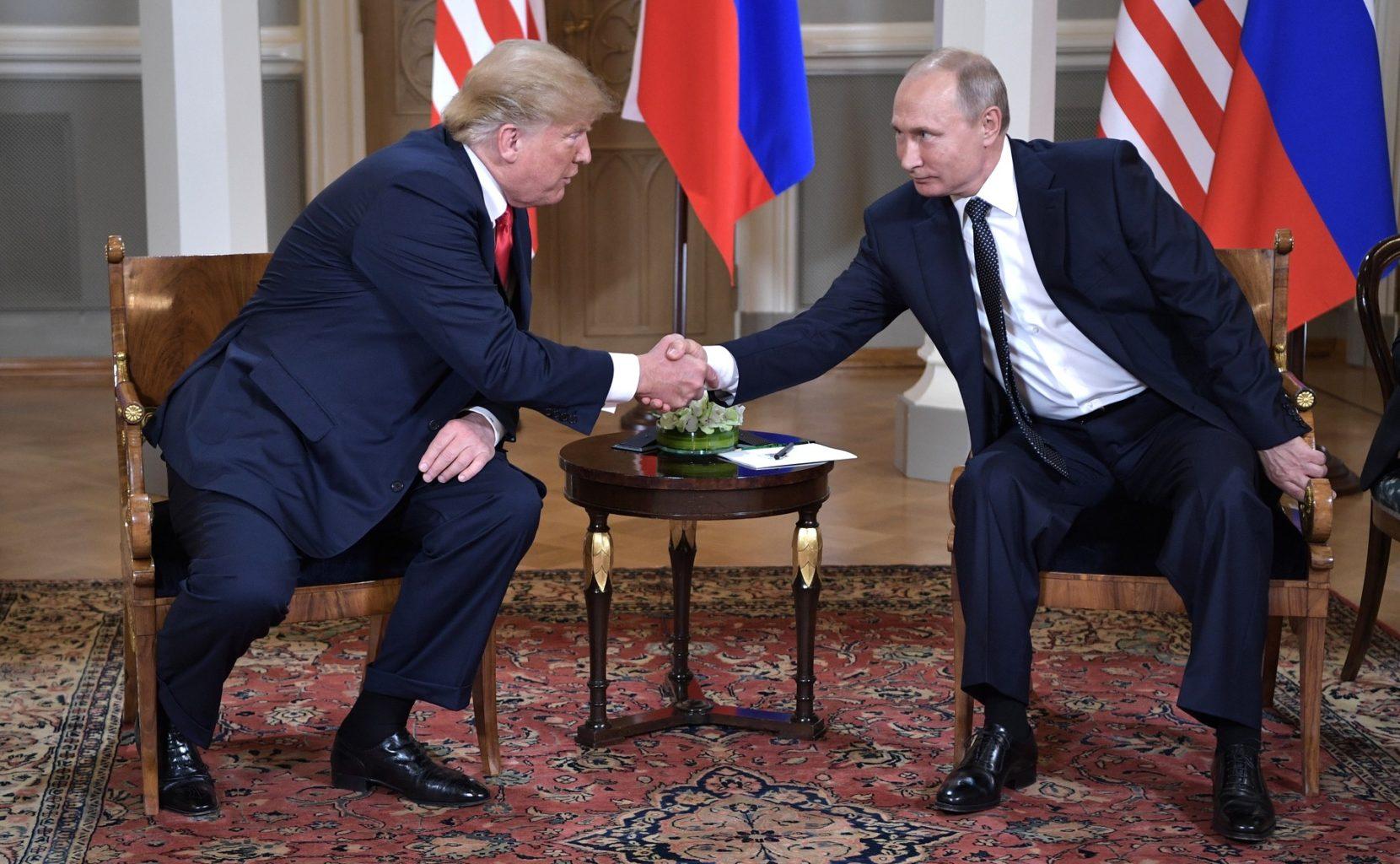 Rencontre entre Trump et Poutine